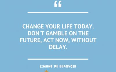 Wednesday Quotes – Simone de Beauvoir