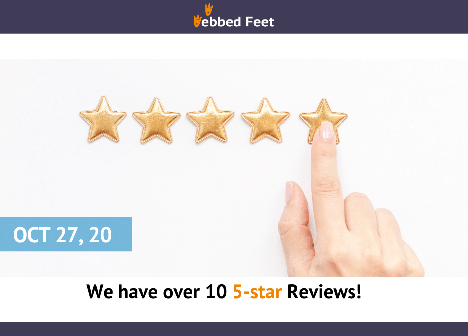 We have over 10 5-star Reviews!