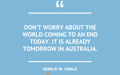 Wednesday Quotes – Charles M. Schulz