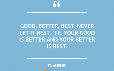 Wednesday Quotes – St. Jerome