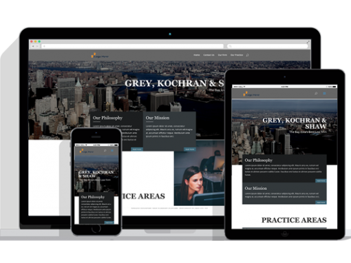 WordPress Responsive Attorney Theme One