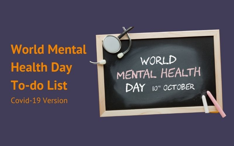 World Mental Health Day To-do List 2020