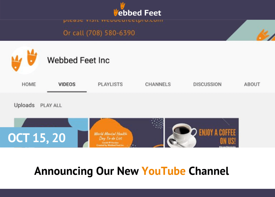 Announcing Our New YouTube Channel