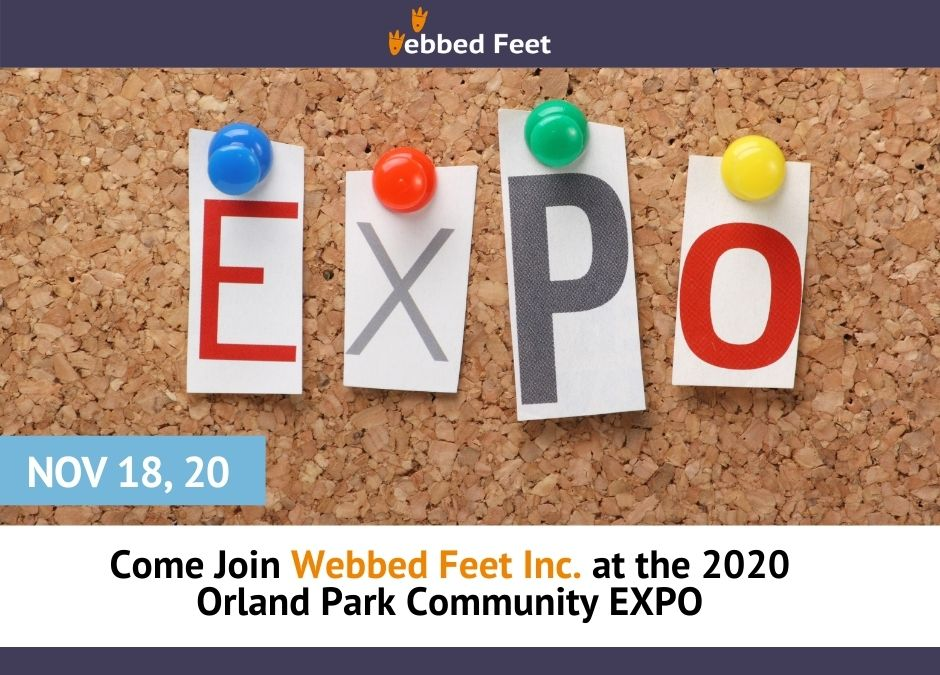 Come Join Webbed Feet Inc. at the 2020 Orland Park Community EXPO