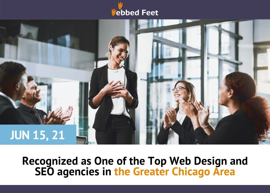 Recognized as One of the Top Web Design and SEO agencies in the Greater Chicago Area