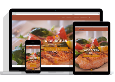 WordPress Responsive Restaurant Theme One