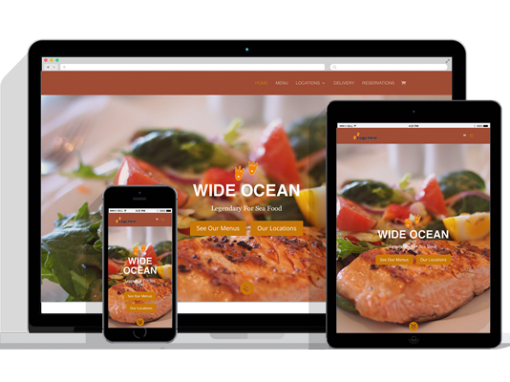 WordPress Responsive Restaurant Theme One