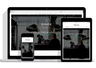 WordPress Responsive Restaurant Theme Two
