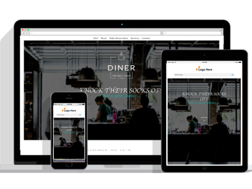 WordPress Responsive Restaurant Theme Two