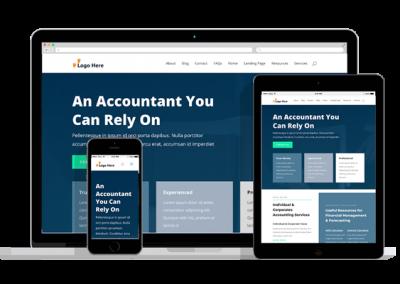 WordPress Responsive Accountant Theme