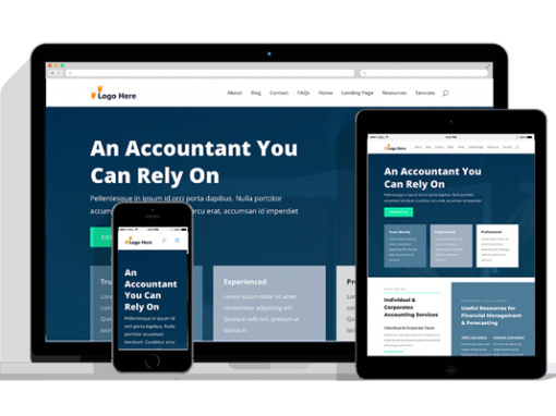 WordPress Responsive Accountant Theme