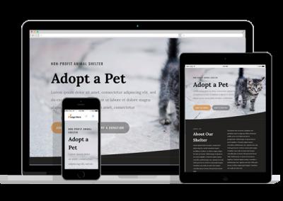 WordPress Responsive Animal Shelter Theme