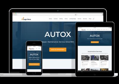 WordPress Responsive Auto Repair Theme