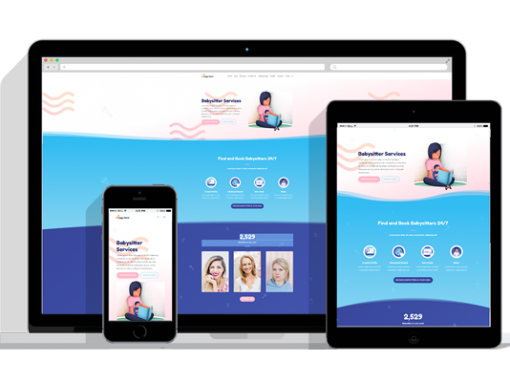 WordPress Responsive Babysitter Theme