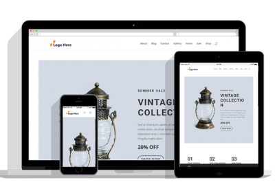 WordPress Responsive Boutique Theme