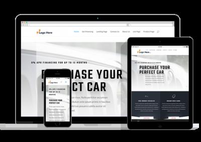 WordPress Responsive Car Dealer Theme