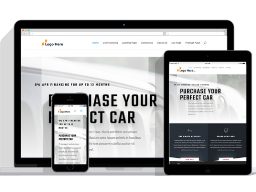 WordPress Responsive Car Dealer Theme