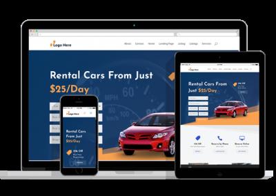 WordPress Responsive Car Rental Theme