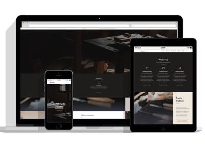 WordPress Responsive Carpender Theme