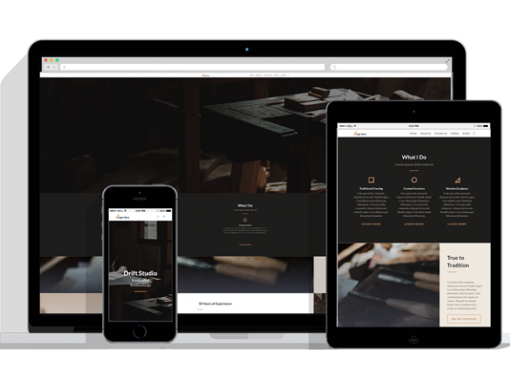 WordPress Responsive Carpender Theme