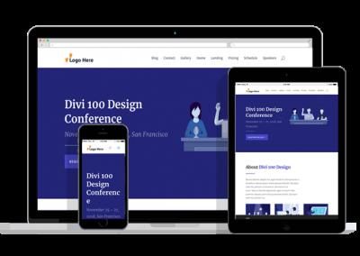 WordPress Responsive Conference Theme