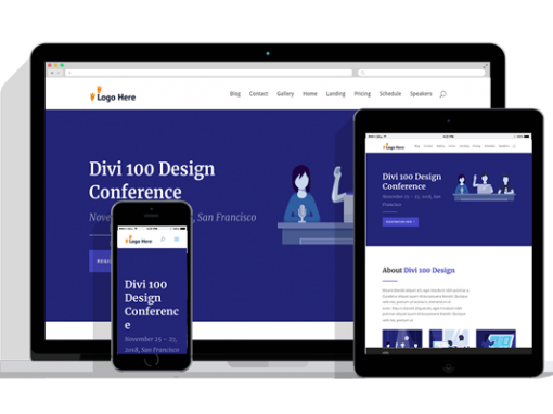 WordPress Responsive Conference Theme