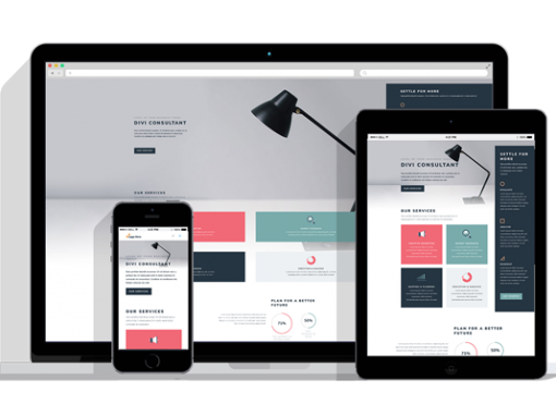 WordPress Responsive Consultant Theme