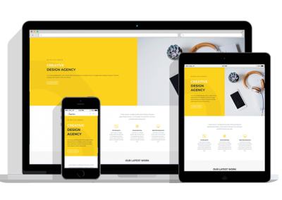 WordPress Responsive Design Agency Theme