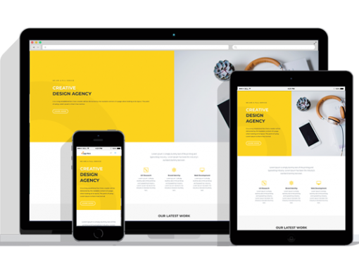 WordPress Responsive Design Agency Theme