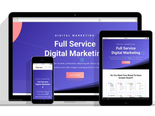 WordPress Responsive Digital Marketing Theme