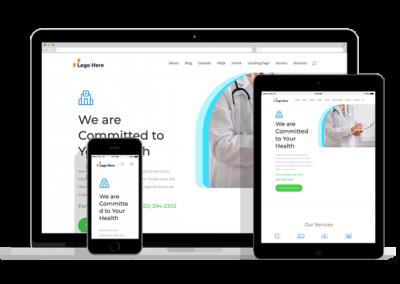 WordPress Responsive Doctor Office Theme