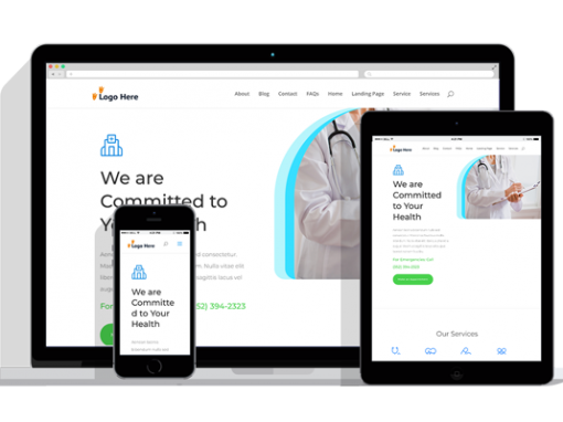 WordPress Responsive Doctor Office Theme