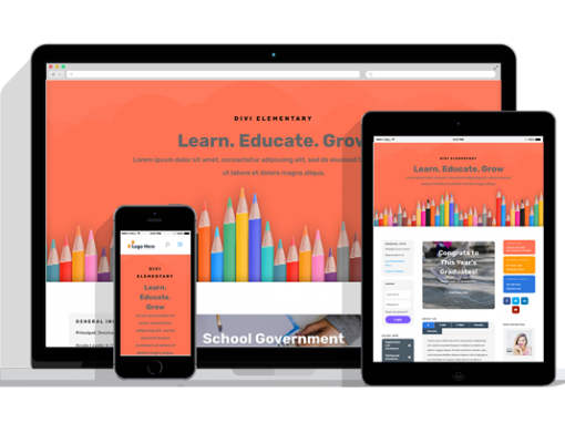 WordPress Responsive Elementary School Theme