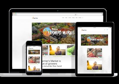 WordPress Responsive Farmer Market Theme