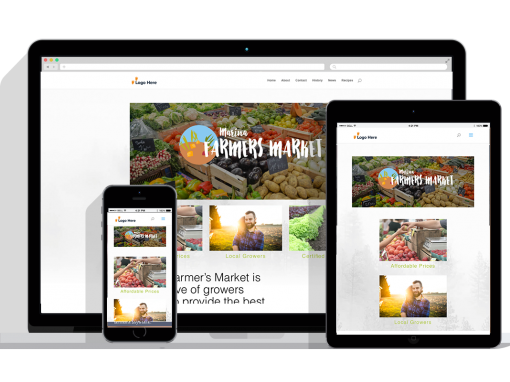 WordPress Responsive Farmer Market Theme