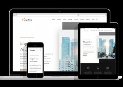 WordPress Responsive Firm Theme