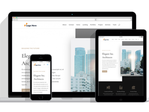 WordPress Responsive Firm Theme