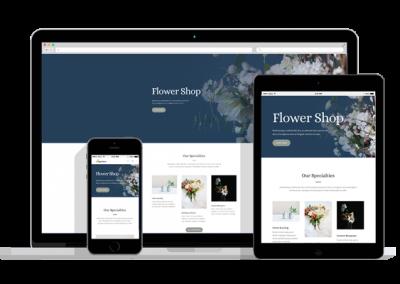 WordPress Responsive Florist Theme