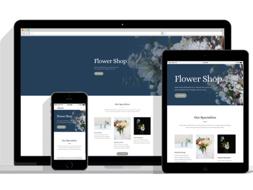 WordPress Responsive Florist Theme
