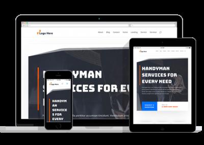 WordPress Responsive Handyman Theme