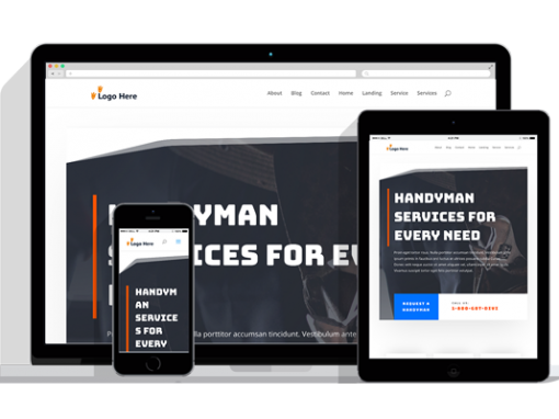WordPress Responsive Handyman Theme