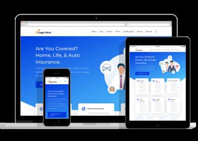 WordPress Responsive Insurance Agency Theme