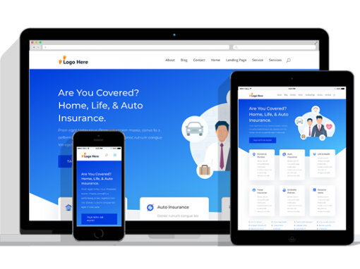 WordPress Responsive Insurance Agency Theme