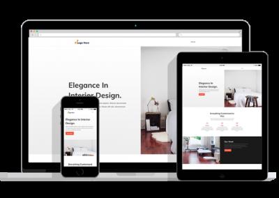 WordPress Responsive Interior Design Theme