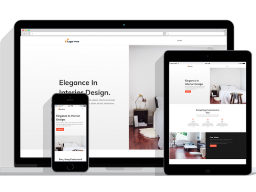 WordPress Responsive Interior Design Theme