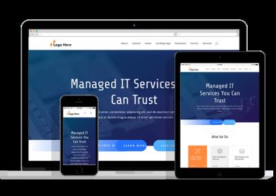 WordPress Responsive IT Services Theme