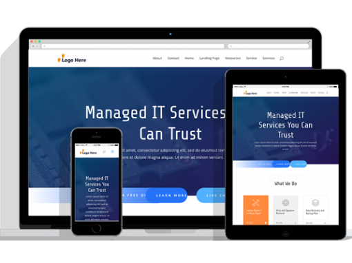 WordPress Responsive IT Services Theme