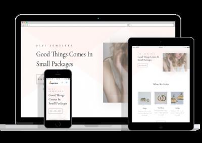 WordPress Responsive Jeweler Theme