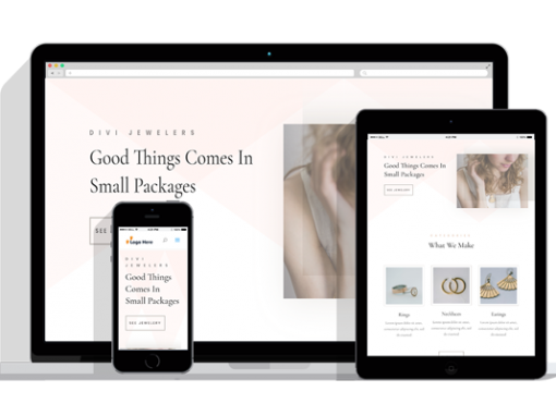 WordPress Responsive Jeweler Theme