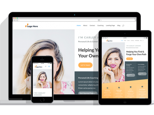 WordPress Responsive Life Coach Theme
